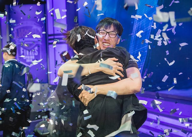 Doublelift and Olleh won the 2018 NA LCS Spring Split finals with Team Liquid