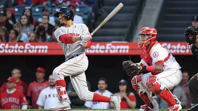 Mookie Betts hot start