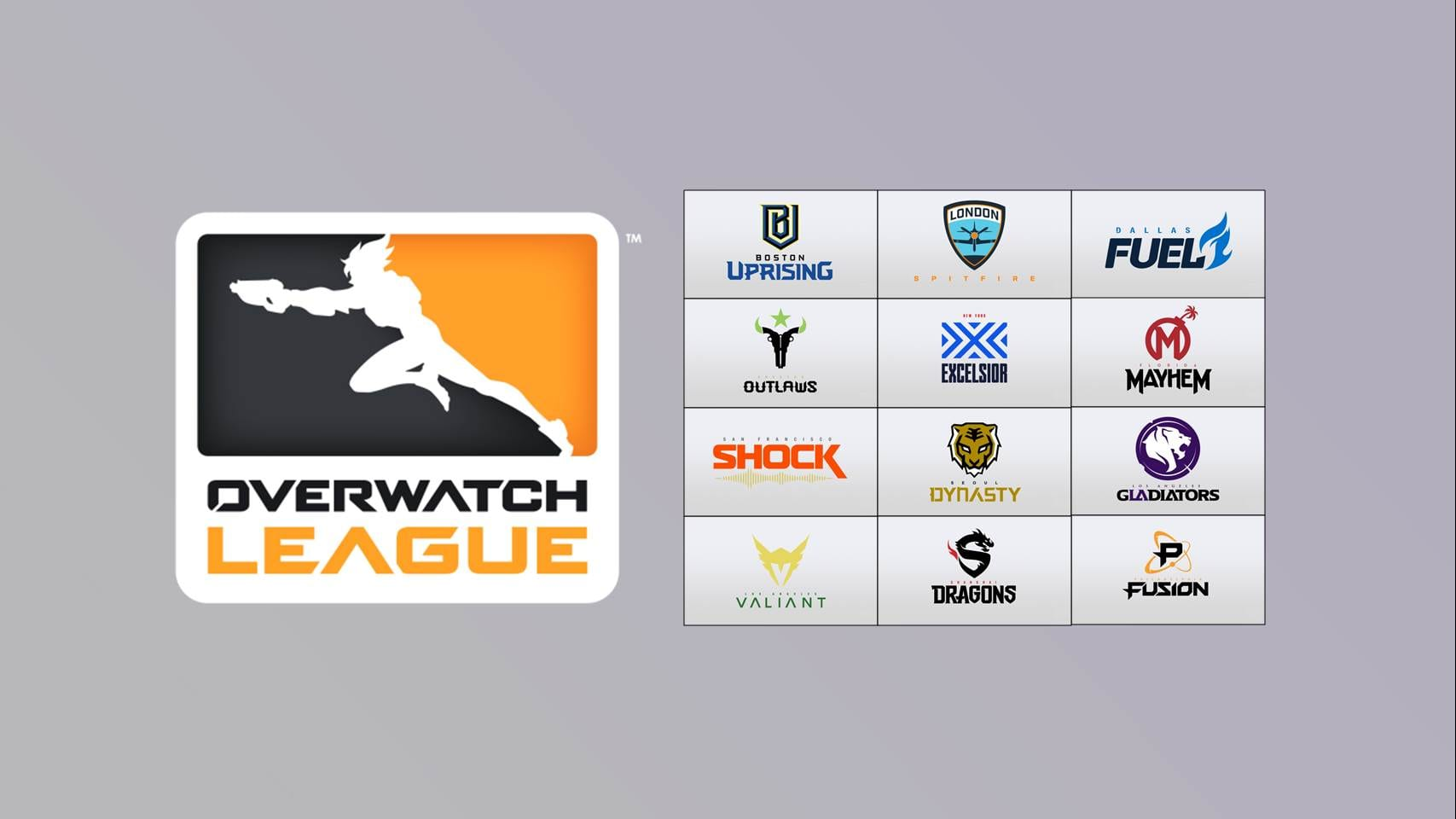 Overwatch League Logo and Teams