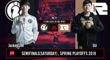 RNG knocked IG out fo the 2018 LPL Spring Split playoffs