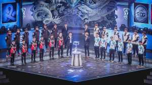 EDG represented the LPL as first seed at the 2017 World Championship