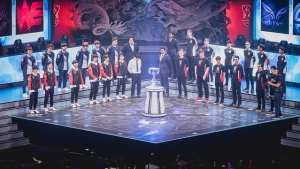 Team WE represented the LPL as third seed at the 2018 World Championship
