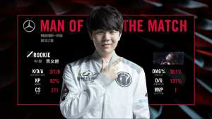 Rookie is Invictus Gaming's mid laner for 2018