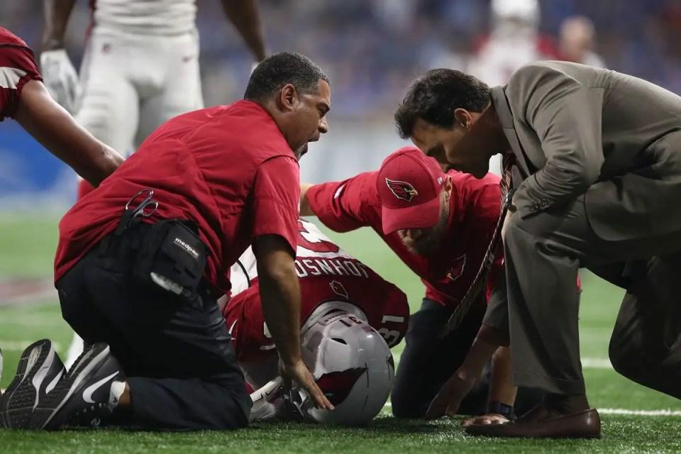NFL week two injuries