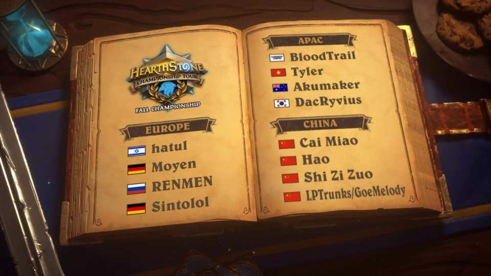 2018 HCT Asia-Pacific Fall Playoffs