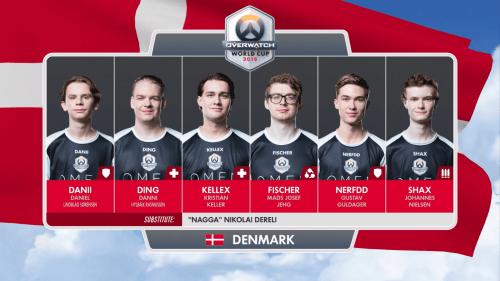 Denmark Overwatch World Cup