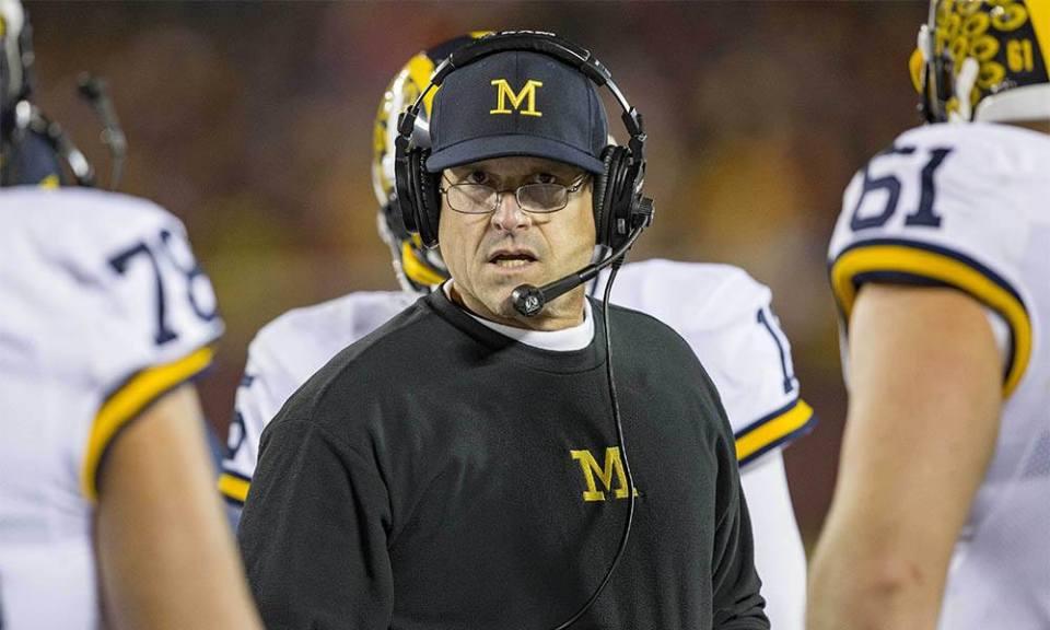 Coach Jim Harbaugh 2018