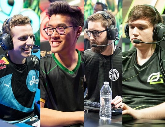 Licorice, Wildturtule, Bjergsen, and Meteos are the Fantastic Four of week four of the LCS Spring Split