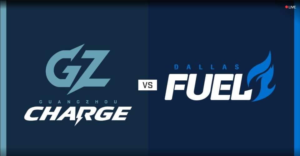 Dallas Fuel vs Guangzhou Charge