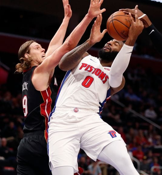 Pistons at Heat Preview