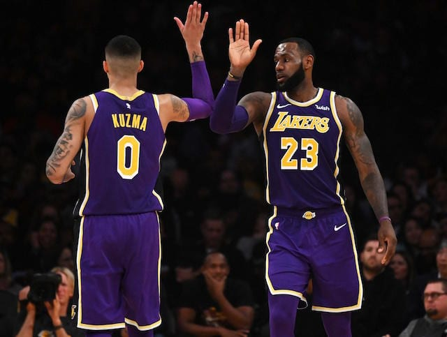 Lakers silver lining