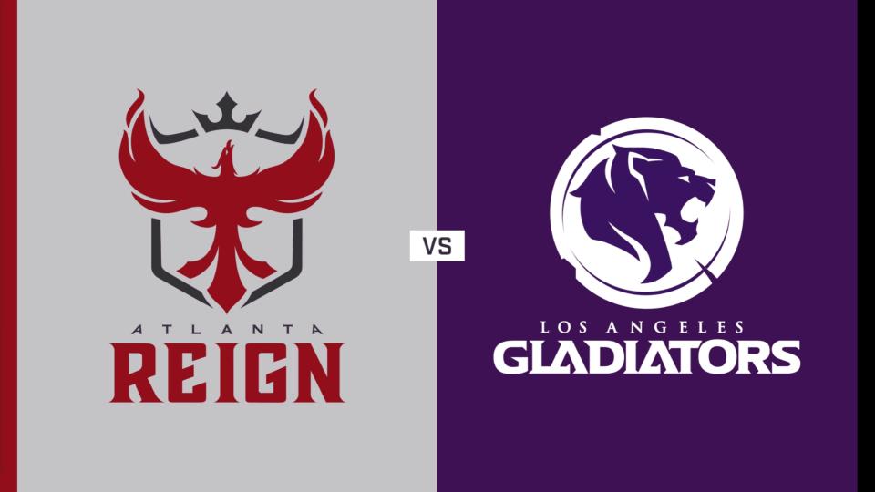 Atlanta Reign vs. Los Angeles Gladiators