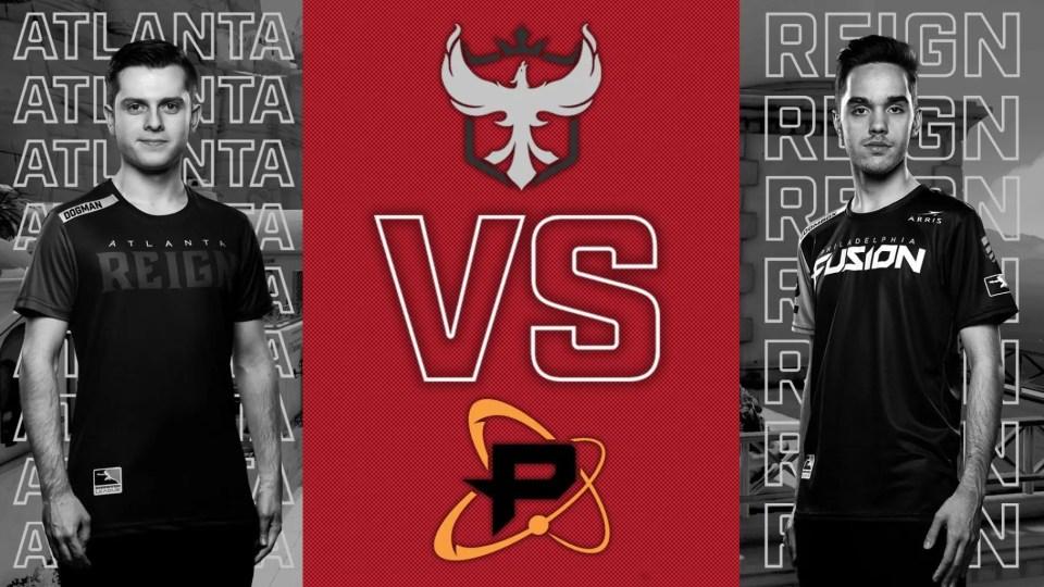 Atlanta Reign vs Philadelphia Fuison