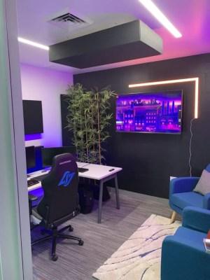 Inside CLG's Newegg Open Streaming Studio.