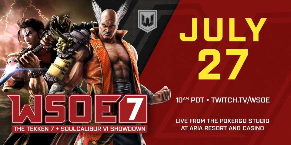 WSOE 7 Tekken and SoulCaliber