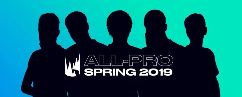 2019 LEC Spring Split 1st Team All-Pro