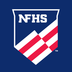 The National Federation of State High School Associations includes 50 member state associations and the District of Columbia (image from Twitter).