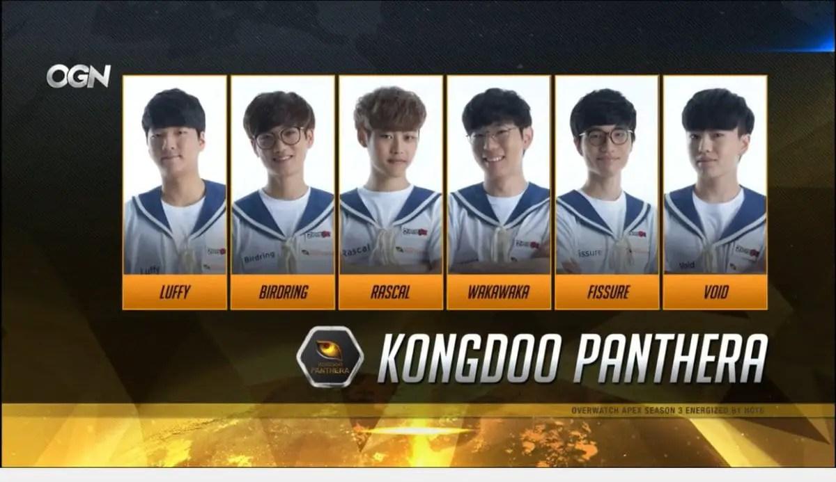 KongDoo Panthera Players