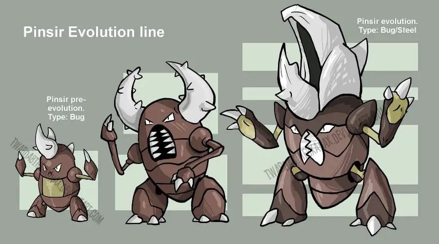 pinsir evolutions