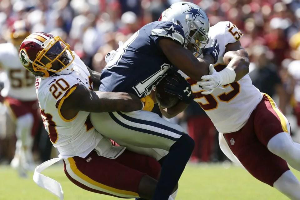 Washington Redskins lose to Dallas Cowboys in Week 2.