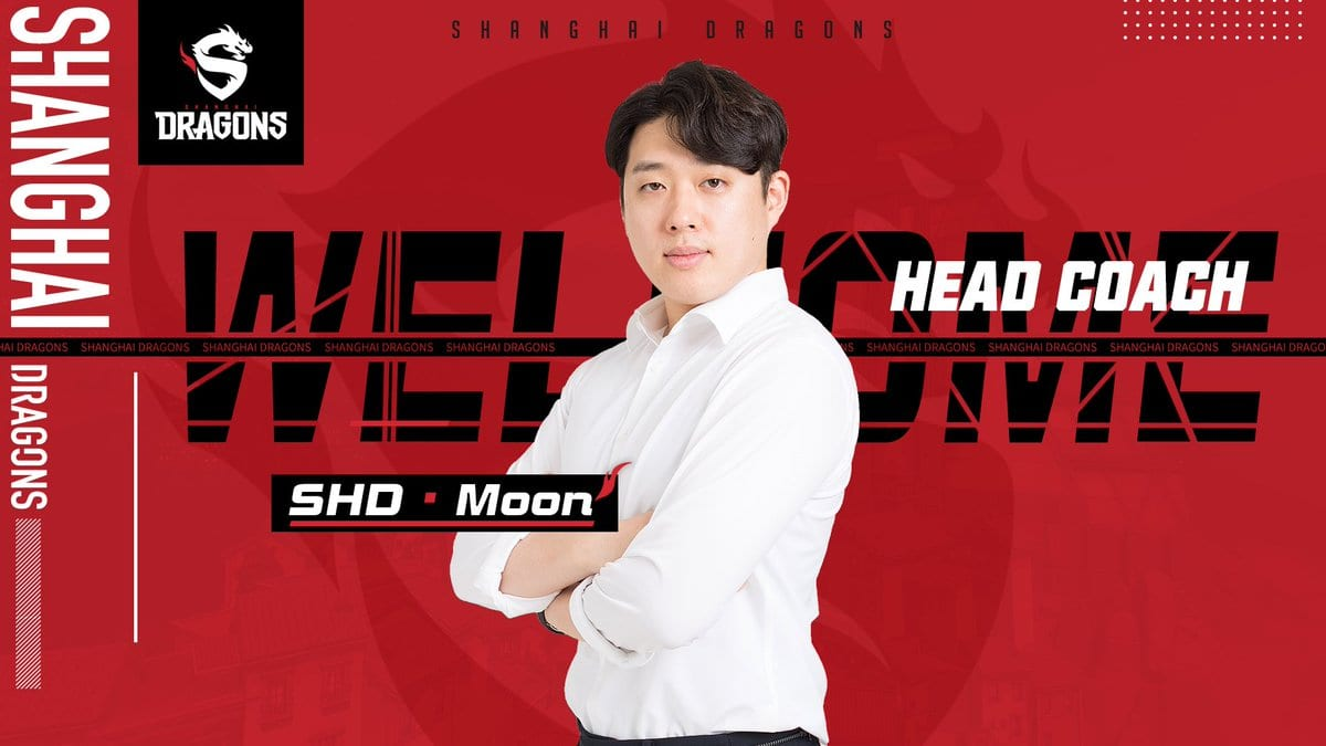 To announce the addition of Moon to the Shanghai Dragons