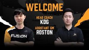 Philadelphia Fusion coaches
