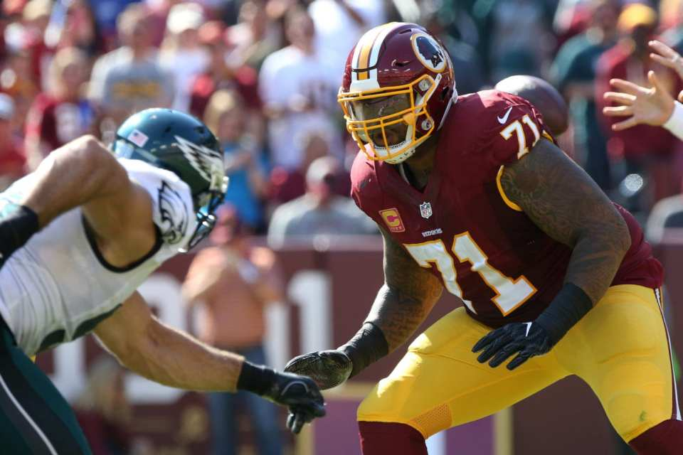 Trent Williams ends his holdout; comes back to the Redskins.
