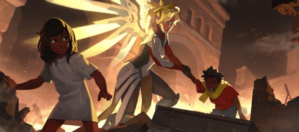 new mercy lore