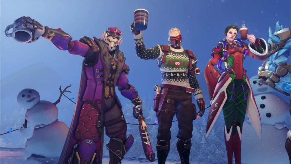 Overwatch Christmas Skins 2020 Leak Overwatch's 2019 Winter Wonderland Skins Have Leaked: Here's a