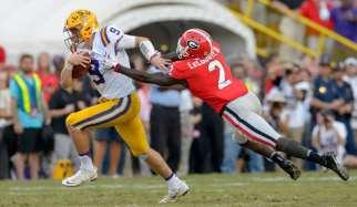 SEC Championship: No.4 Georgia vs No.2 LSU