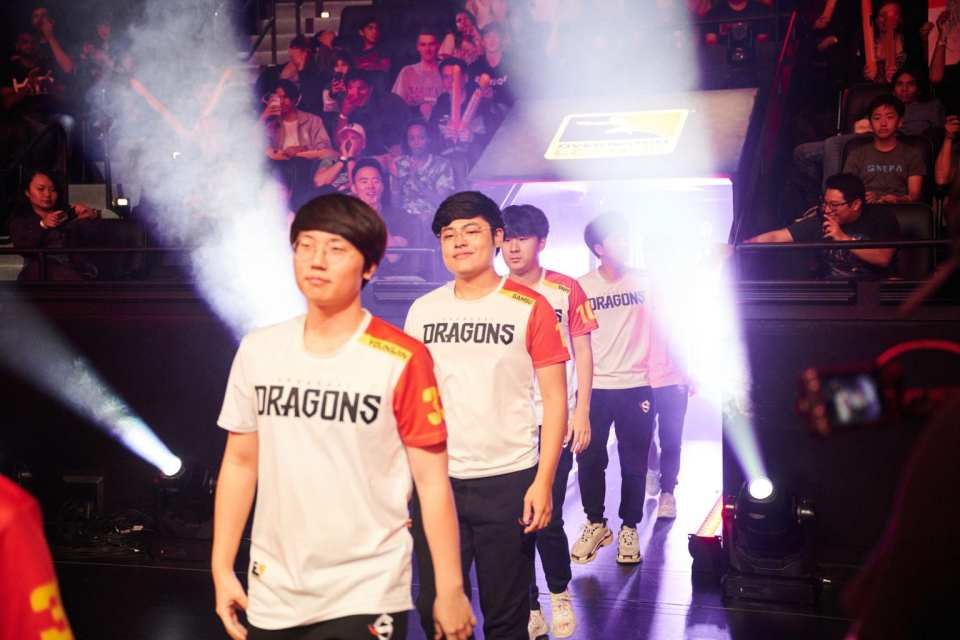 Shanghai Dragons Walkout