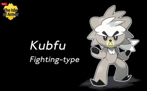 Legendary Pokemon Kubfu