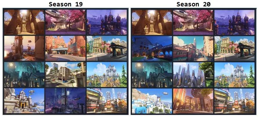 overwatch season 20 map pool