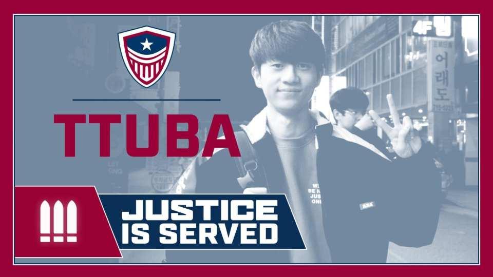Washington Justice announce TTuba