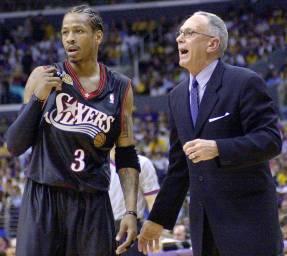 NBA History Allen Iverson 2001 Finals Game 1