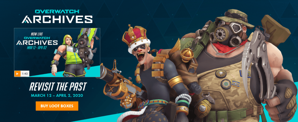 archives event skins