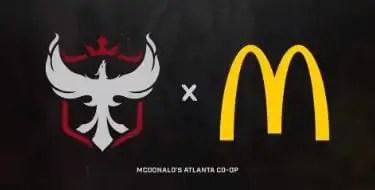 Atlanta Reign partners with McDonalds