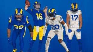 Rams uniforms