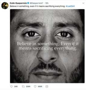 Colin Kaepernick: a Revolutionary Before his Time