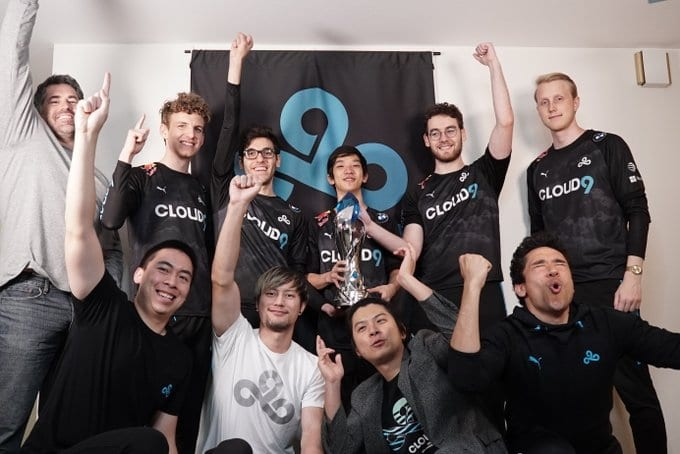Cloud9 After Sweeping FlyQuest