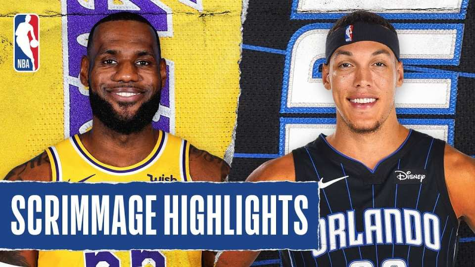 Los Angeles Lakers vs. Orlando Magic Scrimmage Recap