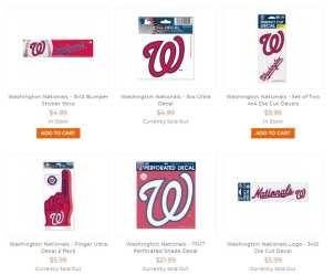 At stickershoppe.com/CTGY/washington-nationals.html