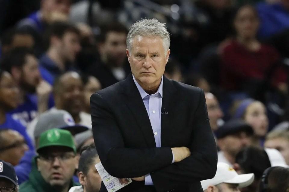 Philadelphia 76ers Fire Head Coach Brett Brown