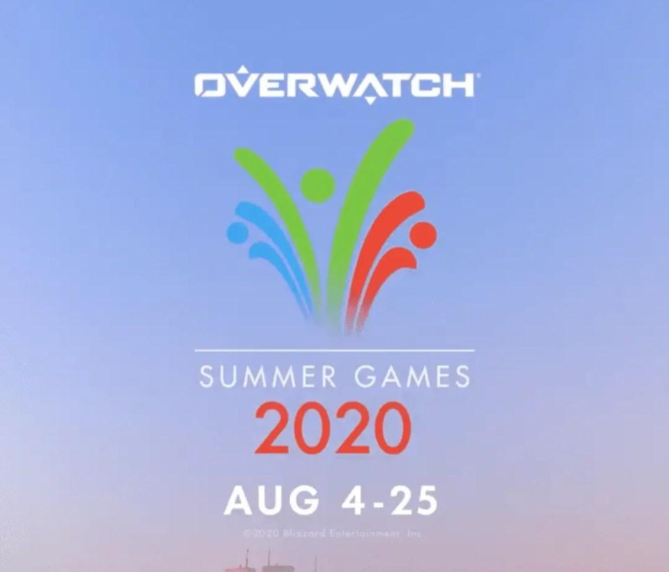 Overwatch 2020 Summer Games Skins