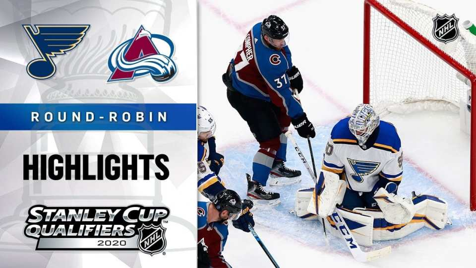 Colorado Avalanche vs. St. Louis Blues game recap.