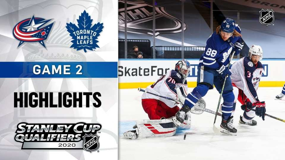 Blue Jackets vs. Maple Leafs game recap.