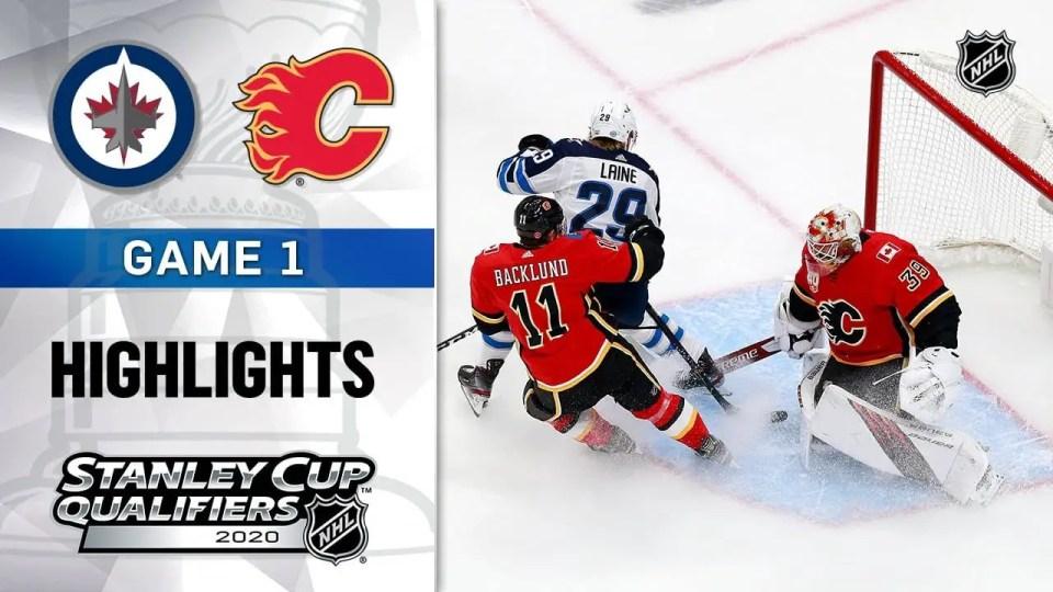Calgary Flames vs. Winnipeg Jets game recap.