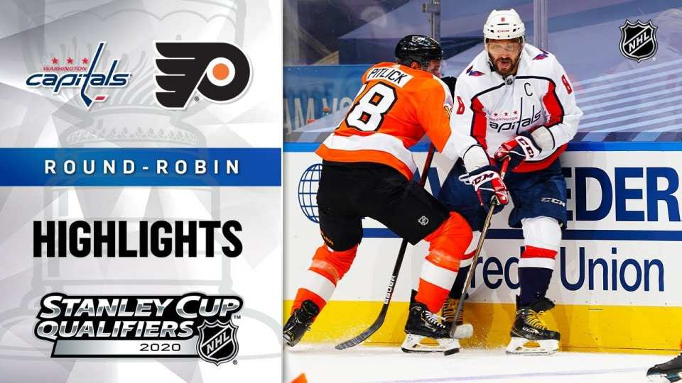 Philadelphia Flyers vs. Washington Capitals game recap.