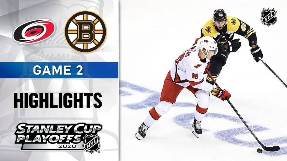 Carolina Hurricanes vs. Boston Bruins game recap