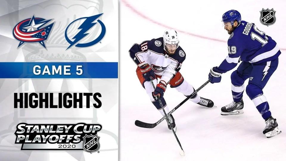 Tampa Bay Lightning vs. Columbus Blue Jackets game recap